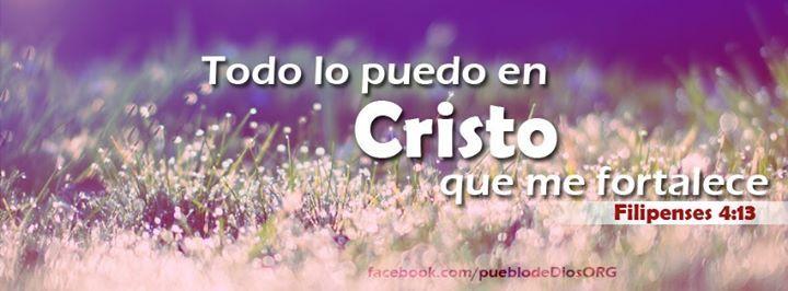 Todo lo puedo en Cristo...