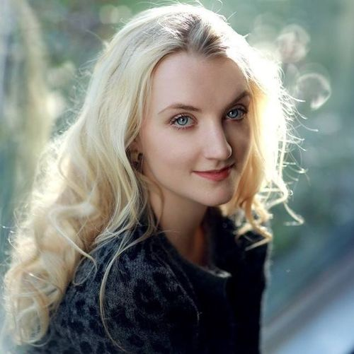 Evanna Lynch (August 16, 1991) British actress, known from several Harry Potter movies.
