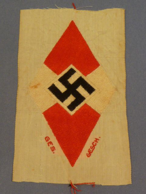 Original WWII German BDM Sleeve Insignia