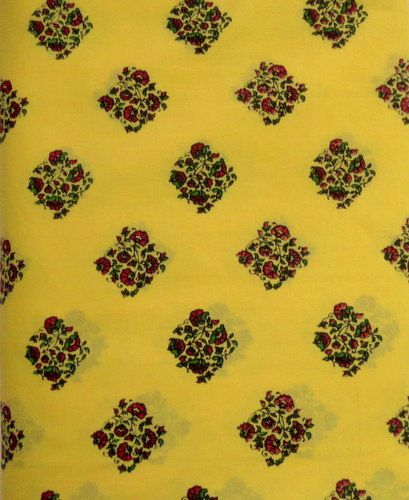 India Cotton Fabric/Natural Vegetable Dyes for by CraftyJaipur