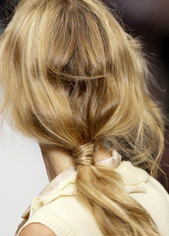 40 Schicke Vorschlage Fur Schnelle Und Einfache Frisuren Archzine Net Haar Styling Frisuren Einfach Hochsteckfrisur