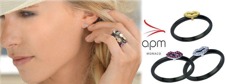 APM MONACO! The French Jewellery design! Δείτε όλη τη συλλογή κοσμημάτων APM MONACO μόνο στο KOSMIMA.GR! http://www.kosmima.gr/index.php?manufacturers_id=66