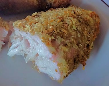 how to make breaded chicken breast