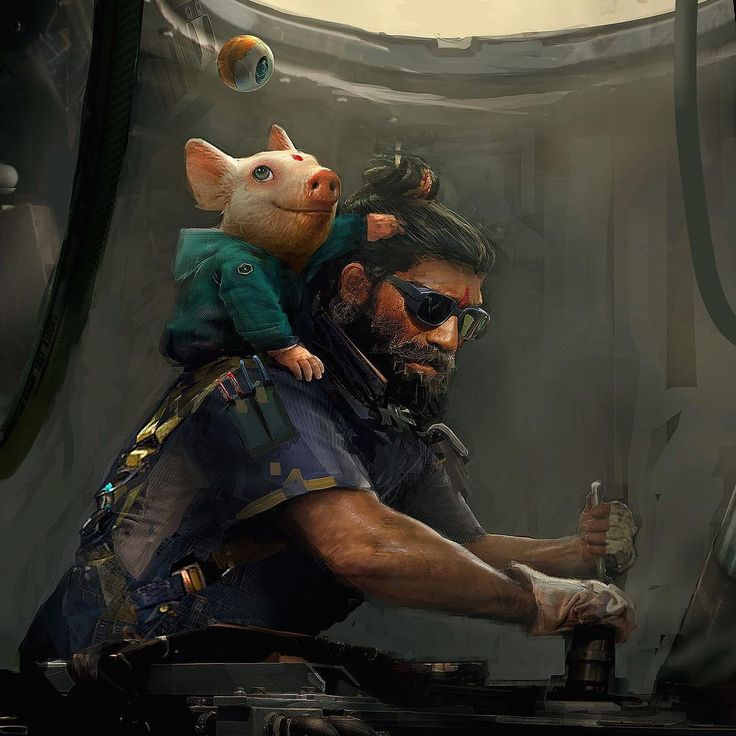 Beyond Good & Evil 2 tease with new art. It's finally happening