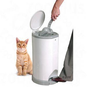 Litter Champ -kissanhiekkaroskis  Vallankumouksellinen puhdistusjärjestelmä nopeaan, hygieeniseen ja taatusti hajuttomaan kissanhiekan häv... 26,90 €