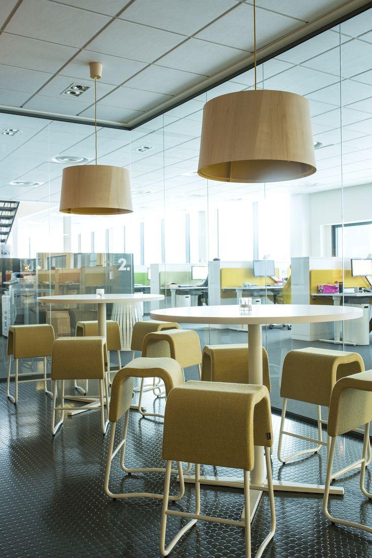 Centrum table, design: Sandin & Bülow   Plint bar stool, design: Sandin & Bülow
