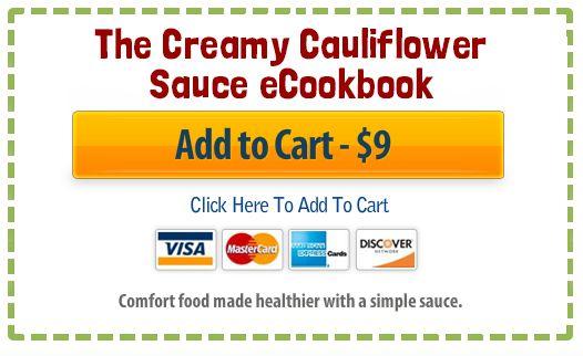 The Creamy Cauliflower Sauce eCookbook - Pinch of Yum