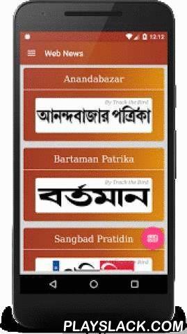 Bengali News Daily Papers  Android App - playslack.com ,  এই বাংলা সংবাদ দৈনিক অনলাইন ই কাগজ আবেদন সীমিত সংস্করণ. ব্যবহারকারী লাইভ এক স্পর্শ (লিমিটেড সংস্করণ) শীর্ষ 33 বাংলা খবর কাগজপত্র পড়তে পারেন. যারা বাংলা সংবাদ কাগজপত্র Anandabazar, Bartamanpatrika, Sangbadpratidin, Ganashakti, বিবিসি বাংলা, Nababartaprasanga এবং আরো অনেক বাংলা সংবাদপত্র আছে.সুবিধাজনক: কোন টাইপিং প্রয়োজন বোধ করা হয়.গুরুত্বপূর্ণ উল্লেখ্য: এই অ্যাপ্লিকেশনটি বাংলা ফন্ট সমর্থন করে যা ডিভাইসের সাথে সামঞ্জস্যপূর্ণ. আপনার…