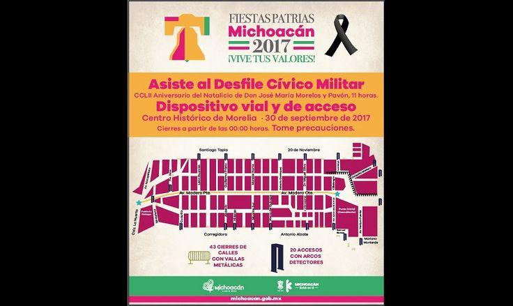 En Morelia se desplegarán más de mil 400 elementos de las Policías Michoacán, Unidad Morelia, Auxiliar, Gendarmería, así como de la Procuraduría General de Justicia del Estado y del Instituto ...