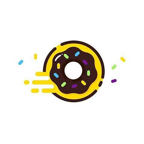 Donut by @madebyelvis Visit our ship for more artworks @pirategraphic #donuts #donut #cheers #sugar #mbe #designer #identity #illustrator #bestvector #minimal #shape #line #logo #creative #yelow #blue #pixel #art #dribbble #artoftheday #like #brand by instagram.com/pirategraphic