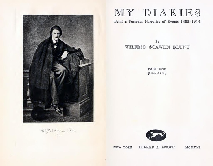 Wilfrid Scawen Blunt, English poet, writer, rebel, politician and explorer. His work is noted for its emotional force; renowned for its elegant erotic verse and his expression of anti-imperialism. http://europeana.eu/portal/record/08701/860DF010E9187C5F33AAFCA288B4DDB1F4DFB4B9.html