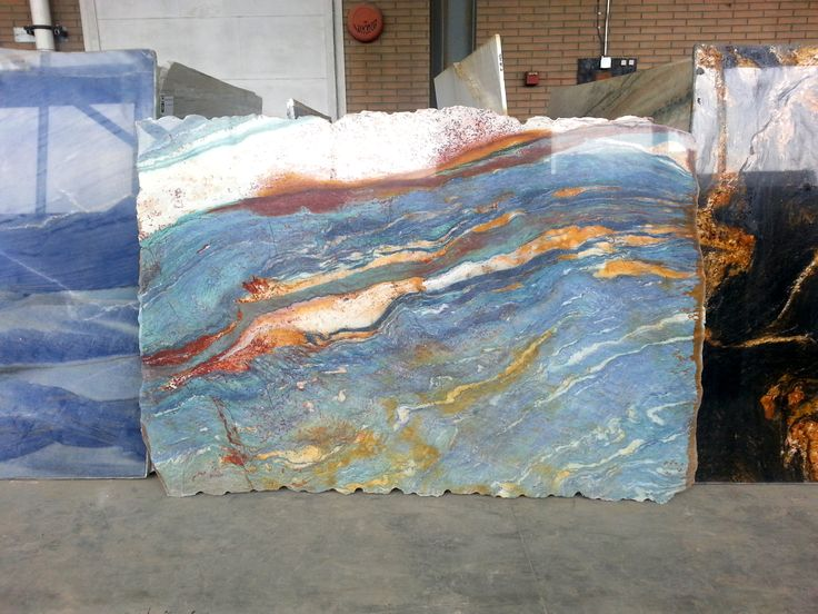 Van Gogh granite is one of the most exclusive natural stones in the world. This exotic and artistic Brazilian granite is reminiscent of the beautiful artwork of Vincent Van Gogh. It features a striking palette of colors that are richly assembled on one of natures most durable materials. www.Marble.com is one of the only countertop fabricators in the world to carry Van Gogh granite.