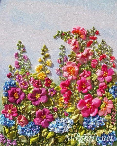 Best ribbon embroidery tutorial ideas on pinterest
