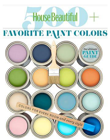 House Beautiful 500+ Favorite Paint Colors by Benjamin Moore