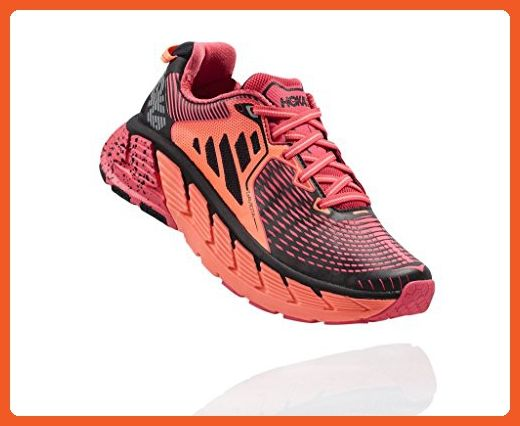 Hoka One One W Gaviota Running Sneaker Shoe - Paradise Pink - Womens - 7 -