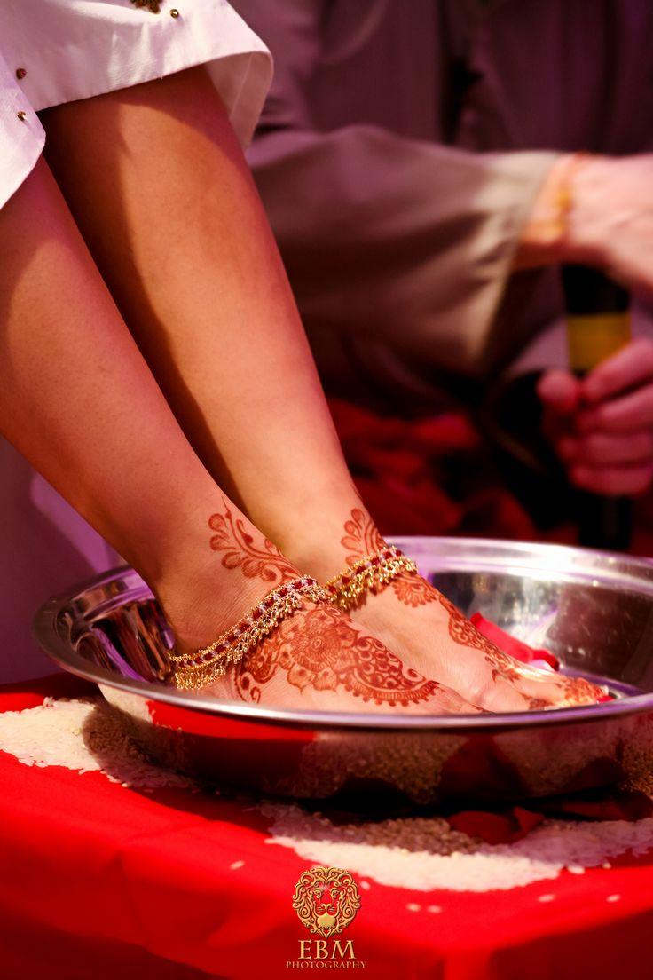 Dainty Anklets + henna