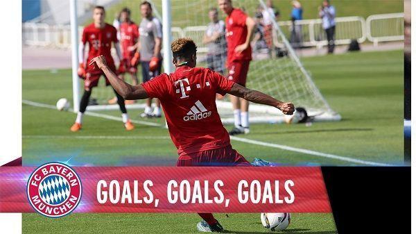Gole Bayernu Monachium podczas zgrupowania w Doha • Robert Lewandowski strzelił najpiękniejszego gola • Zobacz trening strzelecki >> #bayern #bayernmunich #football #soccer #sports #pilkanozna