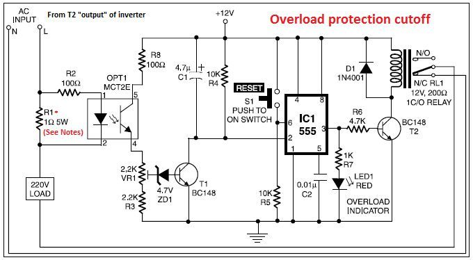 The Following Post Shows How A Full Bridge 1 Kva Inverter Circuit Can Be Built Using 4 N Channel Mosfets Circuit Diagram Circuit Projects Electronics Circuit