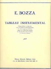 "Tableau instrumental par Eugène Bozza "" Nous avons utilisé dans le 1er leçon de l'orchestration. ::,traduite en japonaise:ボザの楽器一覧表 オーケストレーションの初級レッスンで使用した各楽器の音域マップ。1枚の大きな地図になっており、視覚的な記憶にも優しい。"