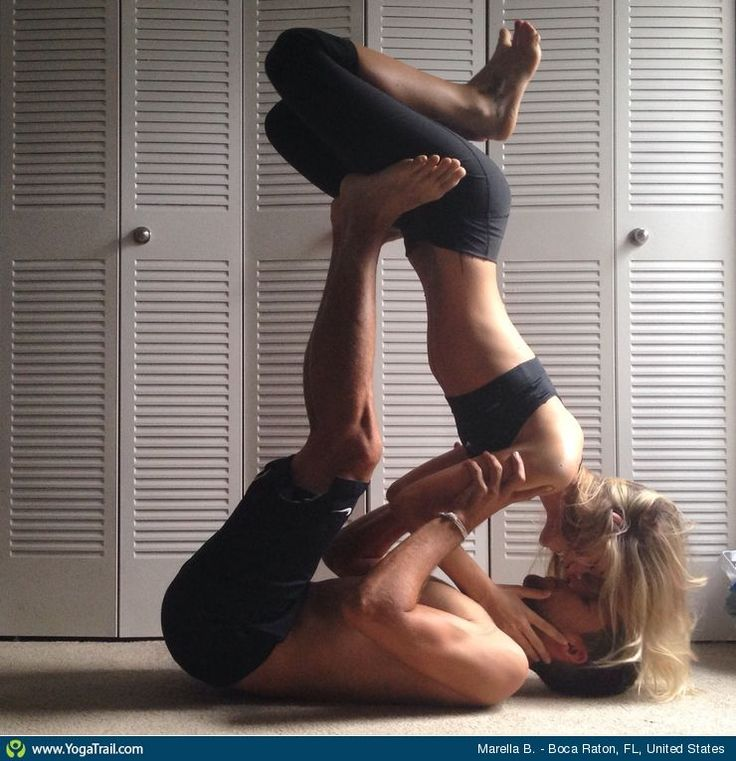 #Yoga Poses Around the World: Partner/Acro Yoga taken in Boca Raton, FL, United States by Marella B.