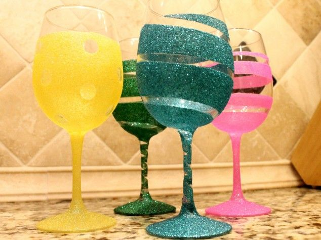best 25 glitter glasses ideas on pinterest glitter wine