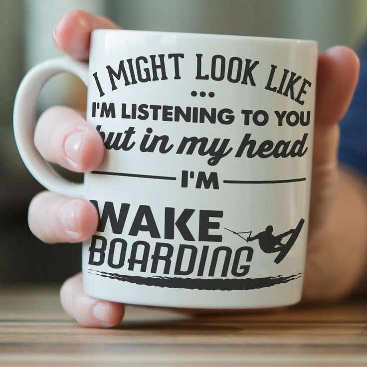 Tell them how you really feel... Reveal your true feelings with this brutally honest crockery! Give this wakeboarding mug to the number 1 wakeboarder in your life (which, to be fair might be yourself)