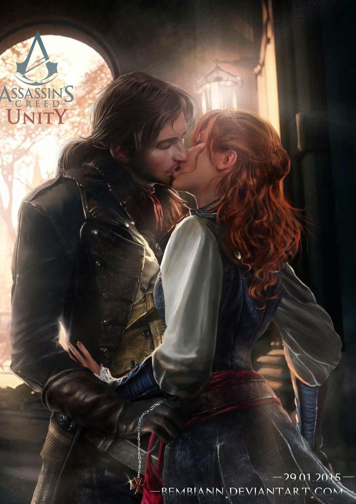 Arno and Elise (Assassin`s Creed Unity) by Bembiann