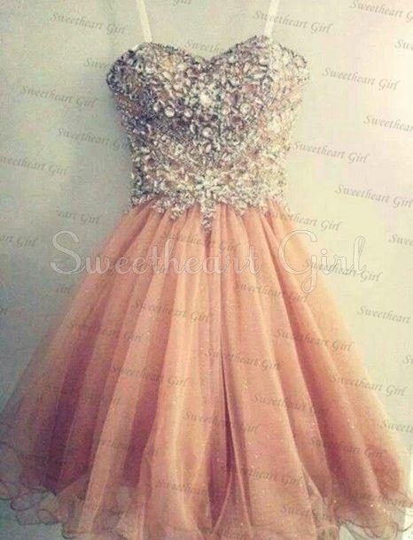 Charming Homecaming Dress,Sweetheart Homecaming Dress, Sequined Homcaming Dress,Chiffon Homecaming Dress,Short Prom Dress