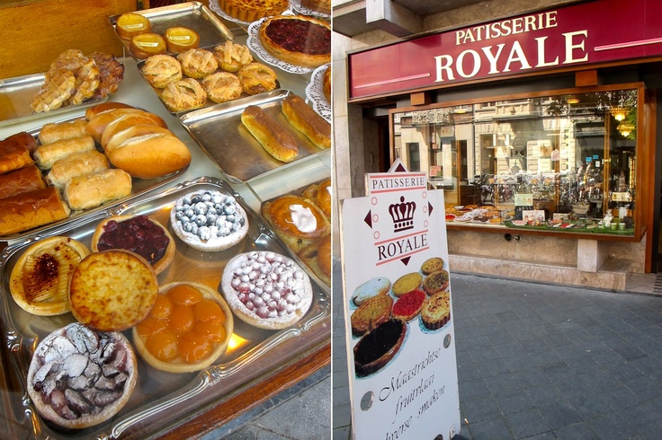 Maastricht - Patisserie Royale -- the ribbon dog