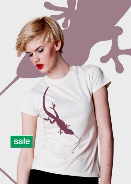!PRZECENA! bawełna organiczna / T-shirt damski