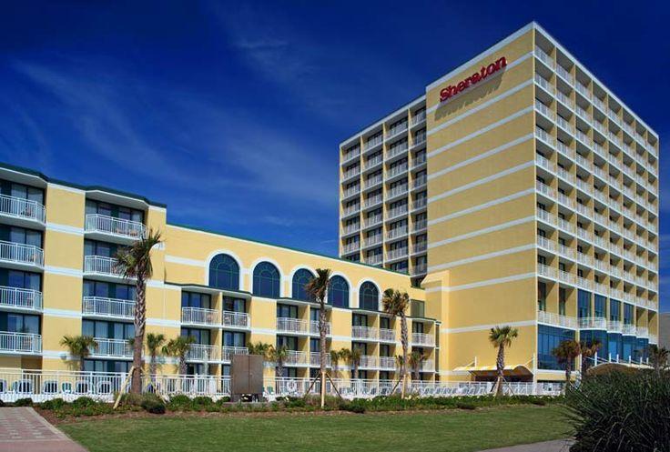 Sheraton Virginia Beach Oceanfront Hotel - Exterior