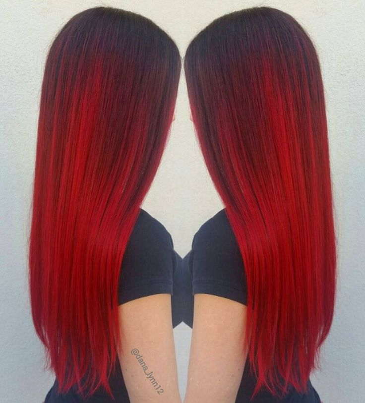 Vibrant Color Hair Extensions 93