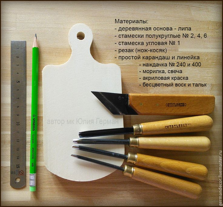 Юлия Герман. Две техники состаривания деревянной поверхности
