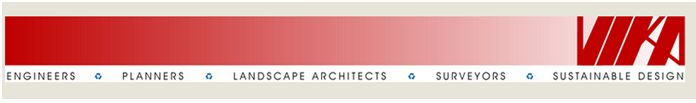 Vika Inc. offers a variety of unique engineering, planning, landscape architecture, surveying and sustainable design services.
