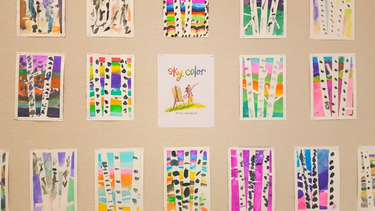 Sky color by Peter Reynolds watercolour lesson