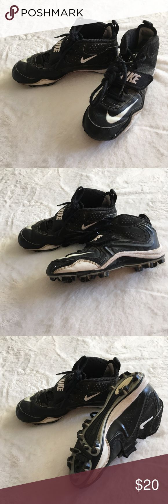 Nike size 4 youth football cleats Youth size 4 cleats by Nike Nike Shoes Sneakers