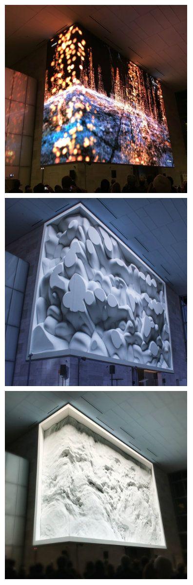 Недавно была представлена светодиодная видео стена с высоким разрешением, установленная на входе в новое офисное здание в городе Сан-Франциско, которая была создана в рамках цифрового арт-шоу, организованного корпорацией Kilroy Realty.  #видеостена #светодиоды #освещение #подсветка #светодизайн #дизайнсвета #световоешоу #светодиодноешоу #свет #светодиоднаяподсветка #светодиодноеосвещение #световаяинсталляция #светодиоднаяинсталляция #светодиодныйдекор #светодиоднаялента #зрелище #артшоу