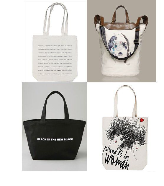 Shopping: Fashion-Forward Canvas Totes For All Seasons | Seasons ...