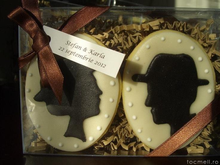 Marturii nunta din biscuiti