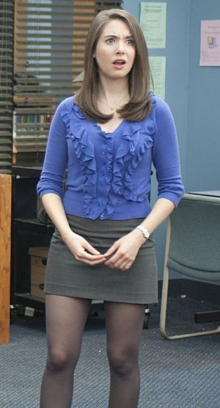 Alison Brie as Annie Edison on Community