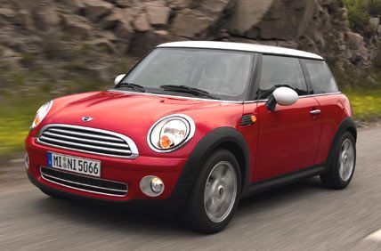 She drives a bright red mini cooper because of her fun personality.  She is not afraid of color and embraces her youth. [Deborah Jow]