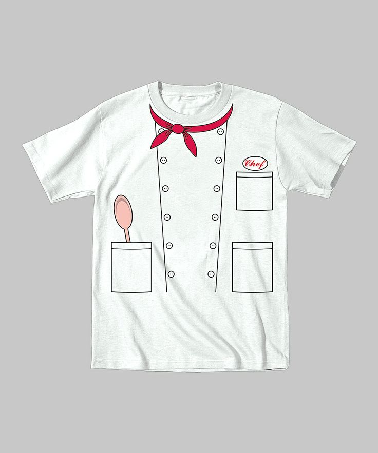 White Chef Tee - Toddler & Kids