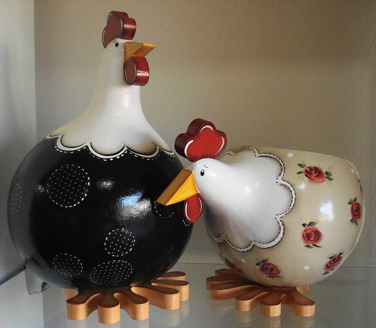 Porta ovos de cabaça   Flickr - Photo Sharing!