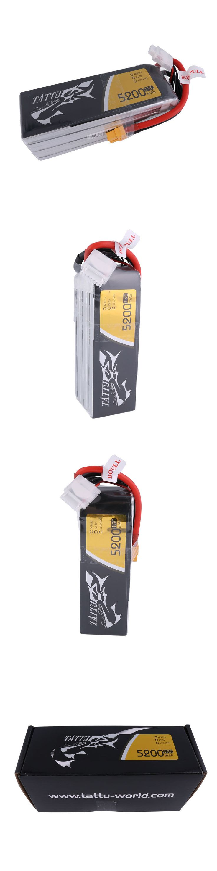Batteries 40700: 6Cell 5200Mah 22.2V 15C 6S1p Lipo Battery Xt60 Plug For Uav Drone Helicopter Fpv -> BUY IT NOW ONLY: $38.12 on eBay!