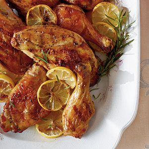 Sweet Tea-Brined Chicken from Southern Living
