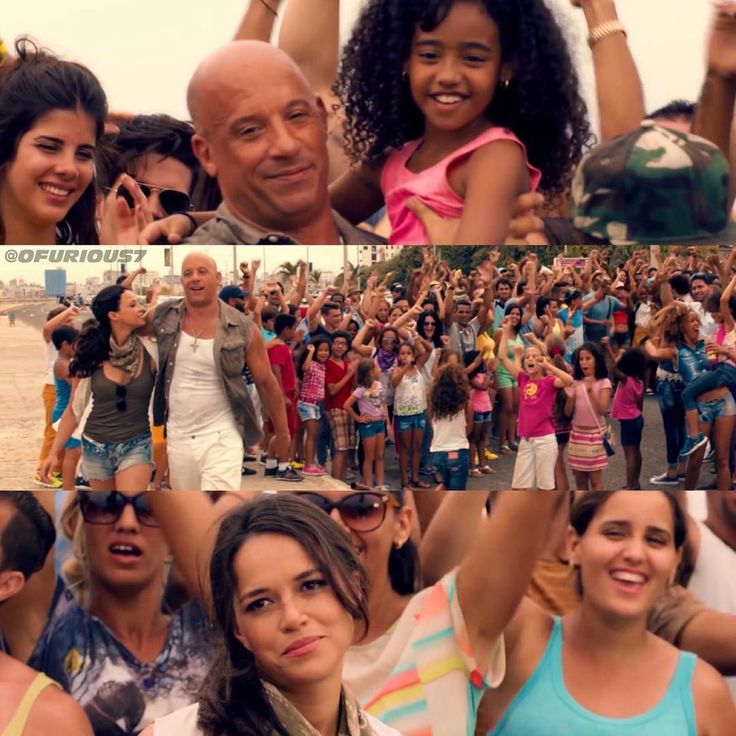 I love that Dom and Letty have huge crowds of people cheering for their honeymoon- I would definitely be one of them! #LetDottyBeHappy