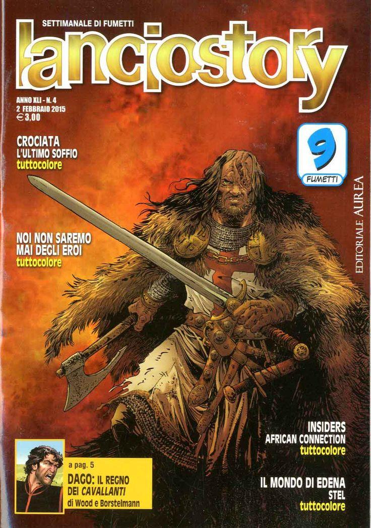 Fumetti EDITORIALE AUREA, Collana LANCIOSTORY ANNO 41 - 201504