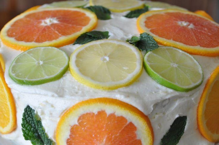 Fresh Orange Sponge Cake – Top Recipes