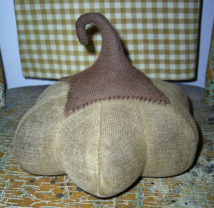primitive pumpkin sewing patterns free   ... and stuffed and STUFFED, till it becomes………a Fabric Pumpkin