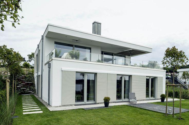 """Die Häuser der Serie """"cubiculum"""" verkörpern zeitgemäße Architektur ✓ im Bauhaus-Stil ✓. Wir bauen ein beeindruckendes Eigenheim für Sie ✓!"""